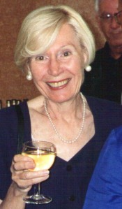 Audrey Kirkpatrick celebrates.