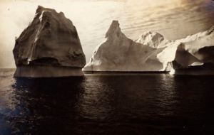 Icebergs by Clarence Wyckoff, copyright © Kim Fairley and Silas Hibbard Ayer III.