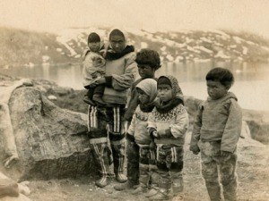 Woman and Five Children at Upernavik by Louis Bement, copyright © Kim Fairley and Silas Hibbard Ayer III.