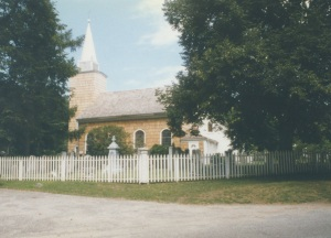 The Caroline Church of Brookhaven, on Setauket's Village Green, was built in 1729.